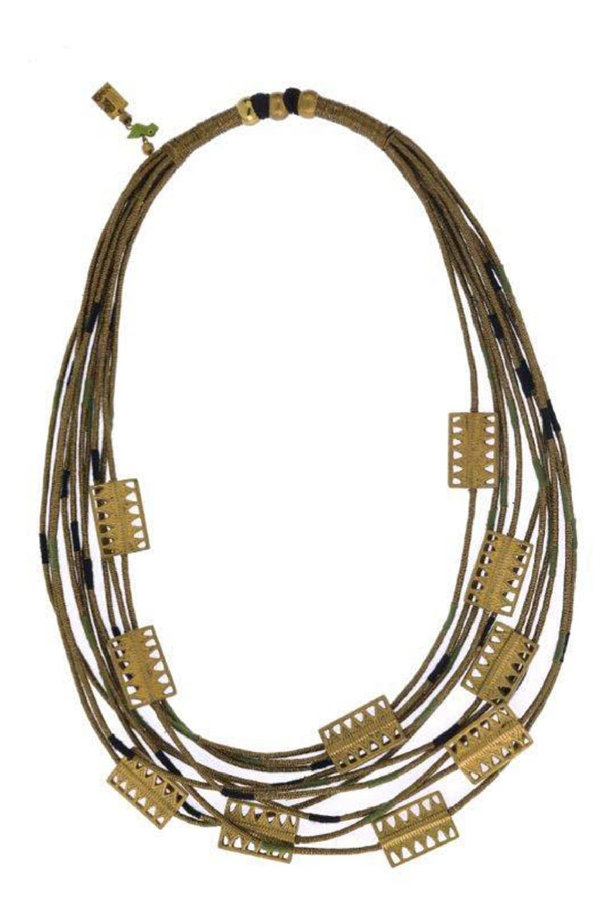 Mayabazaar Jewellery Shachi multi-strand necklace