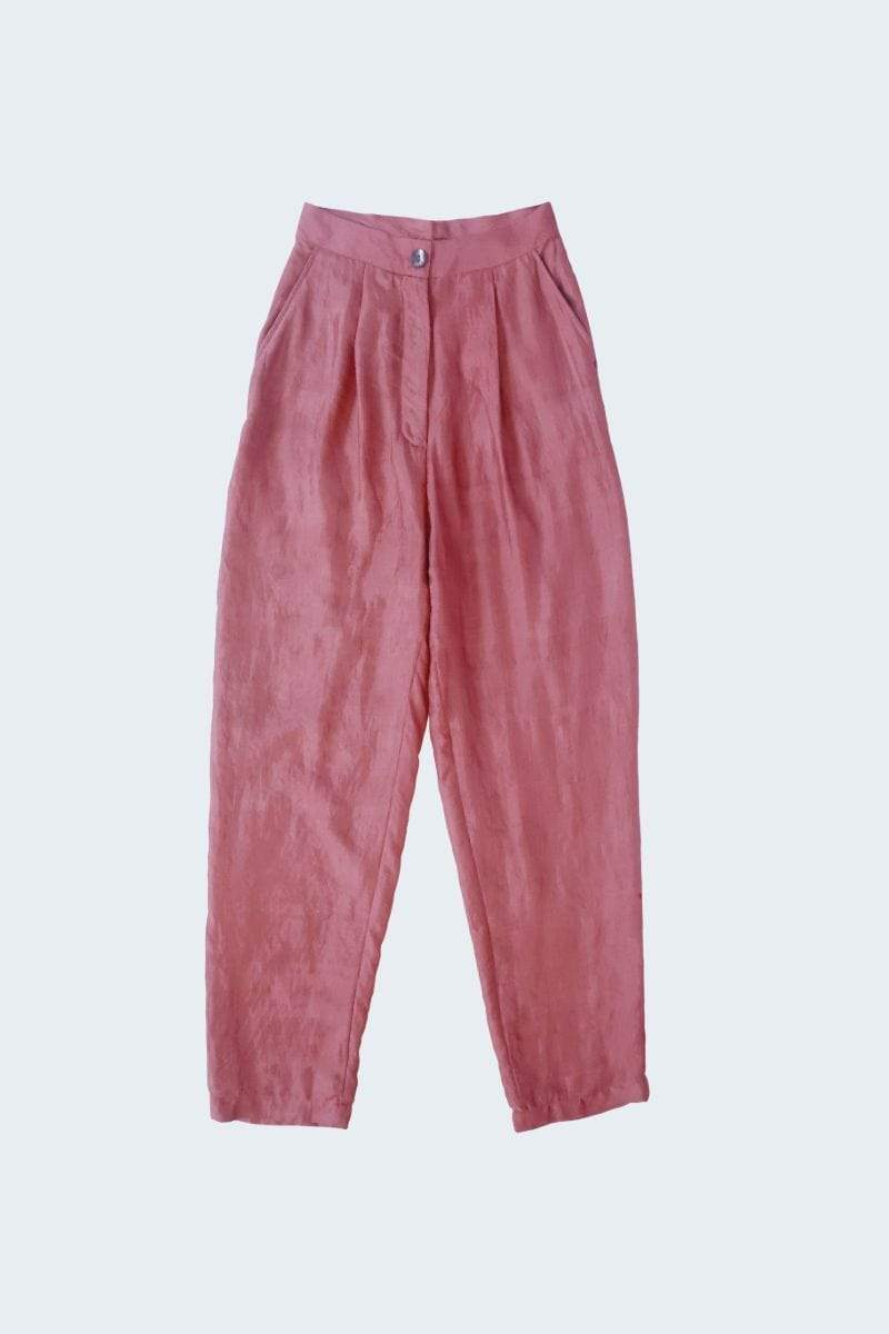 Naushad Ali Bottoms Pleated Trousers