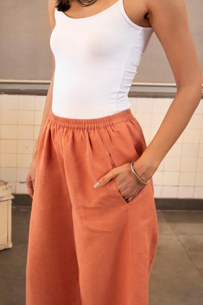 Payal Pratap Bottoms Alberta pants in khadi
