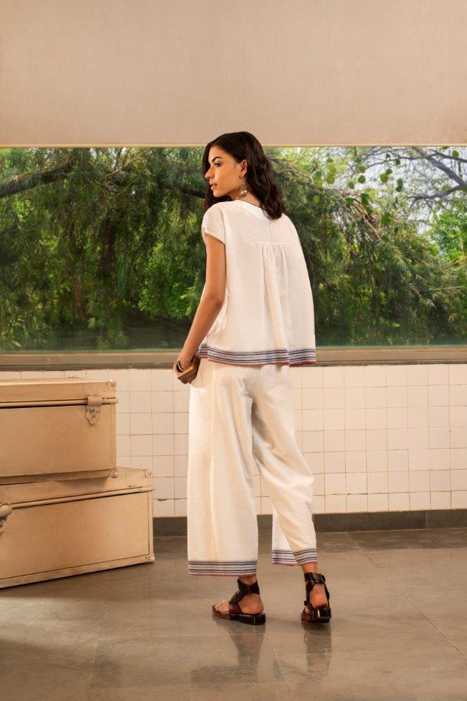 Payal Pratap Shirts & Tops Roland smocked top