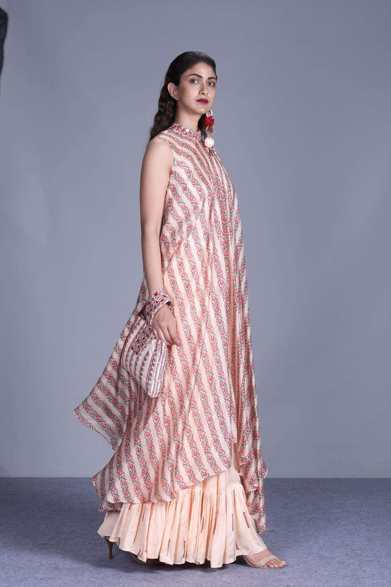 Punit Balana Shararas Asymmetrical kurta with sharara