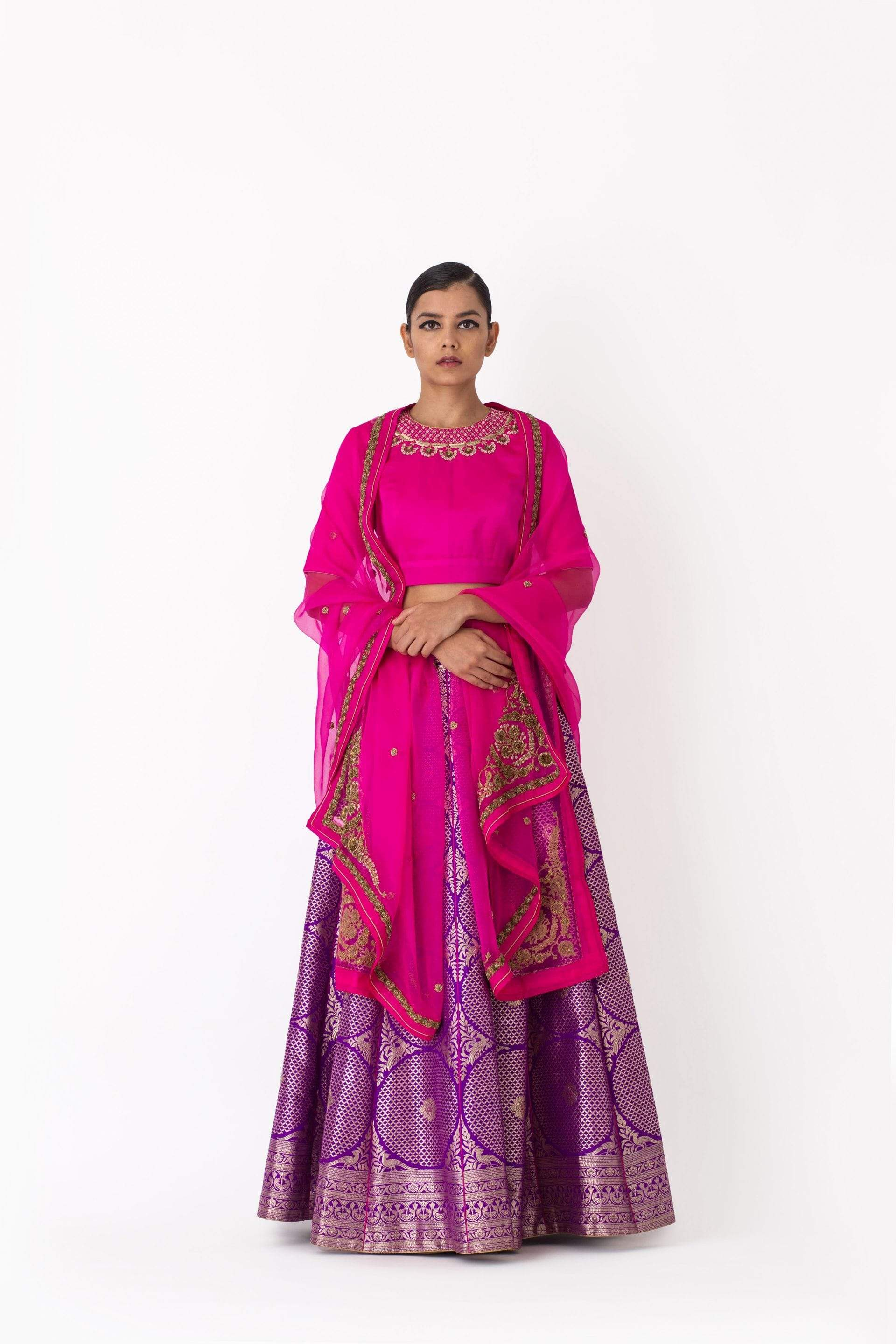 Raw Mango Light Lehengas Abheesha & Vegan lehenga set