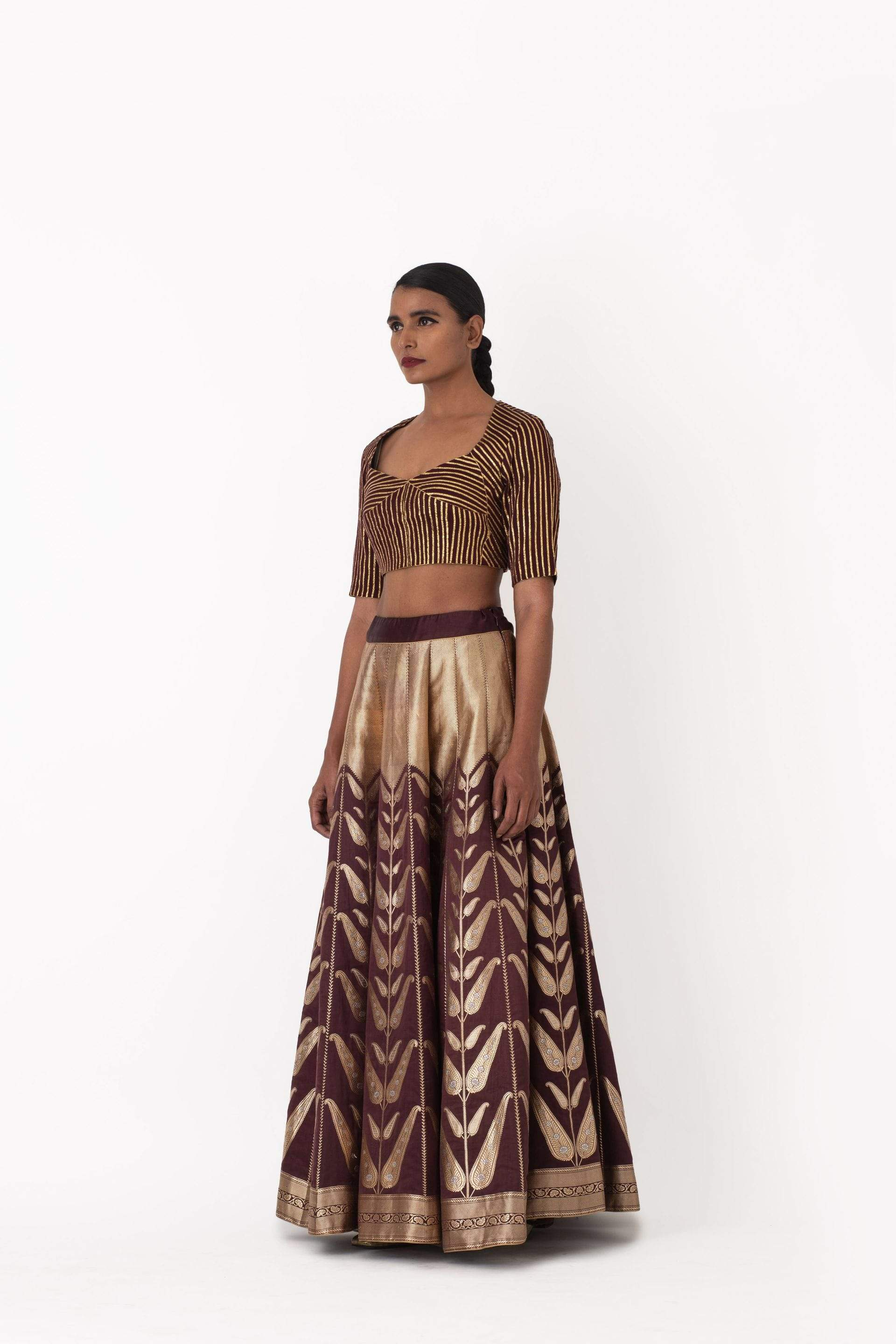 Raw Mango Light Lehengas Madani & Ruhi lehenga set