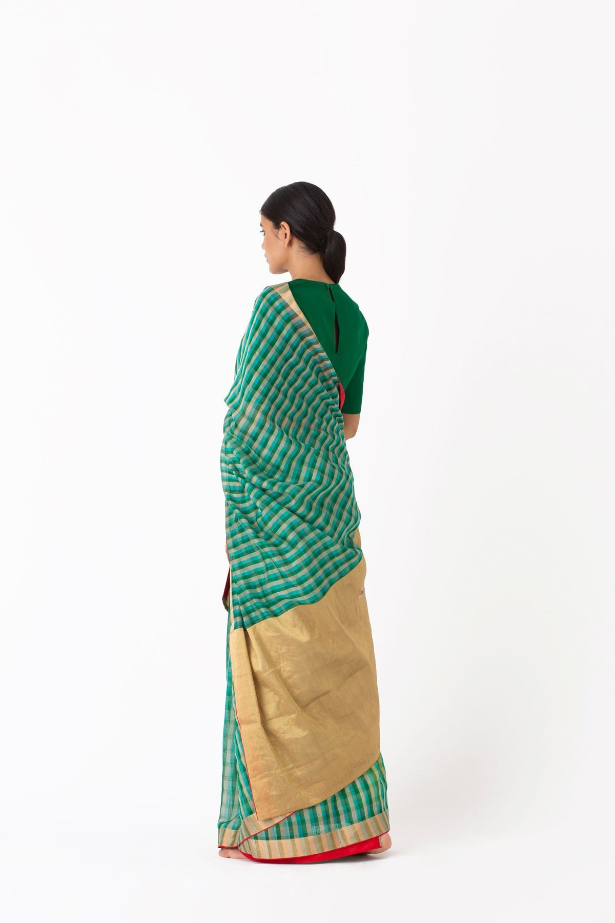 Raw Mango Sarees FS Braj cotton silk saree