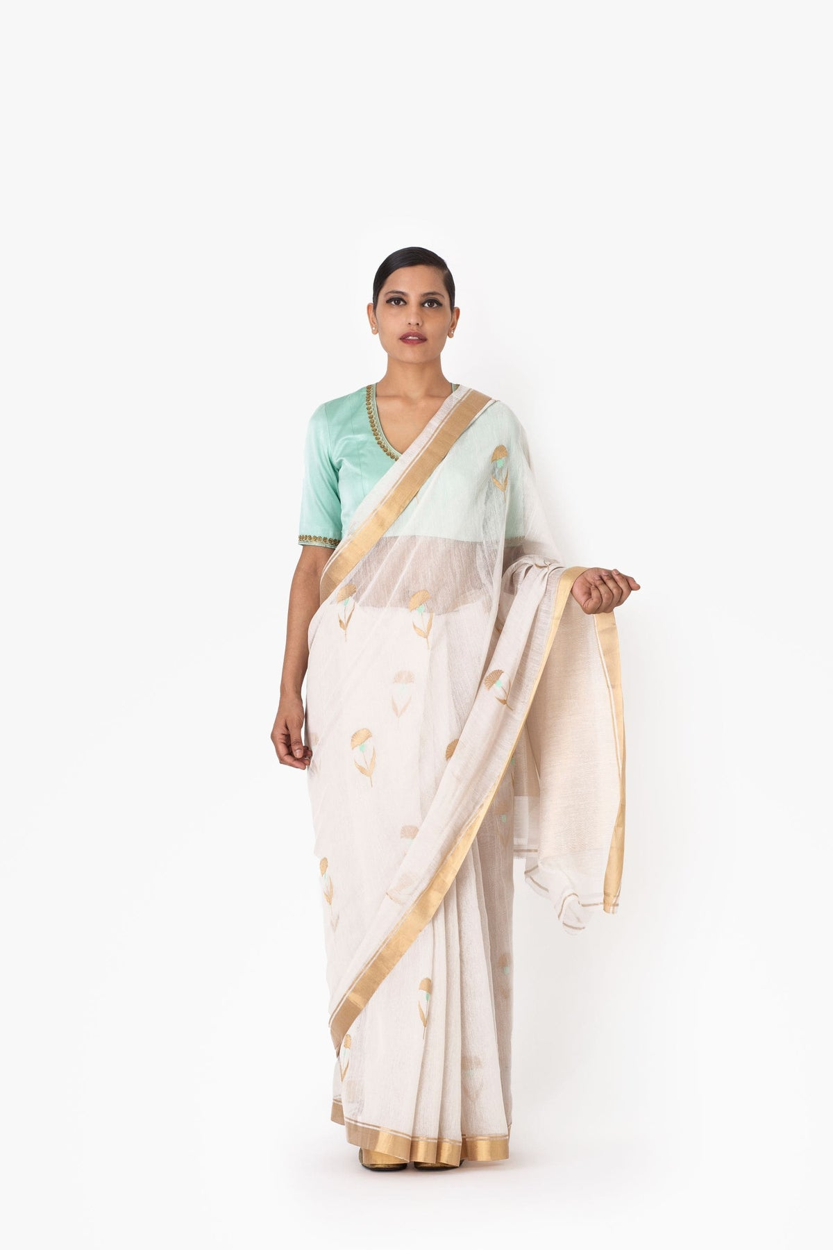 Raw Mango Sarees FS Somala cotton silk saree