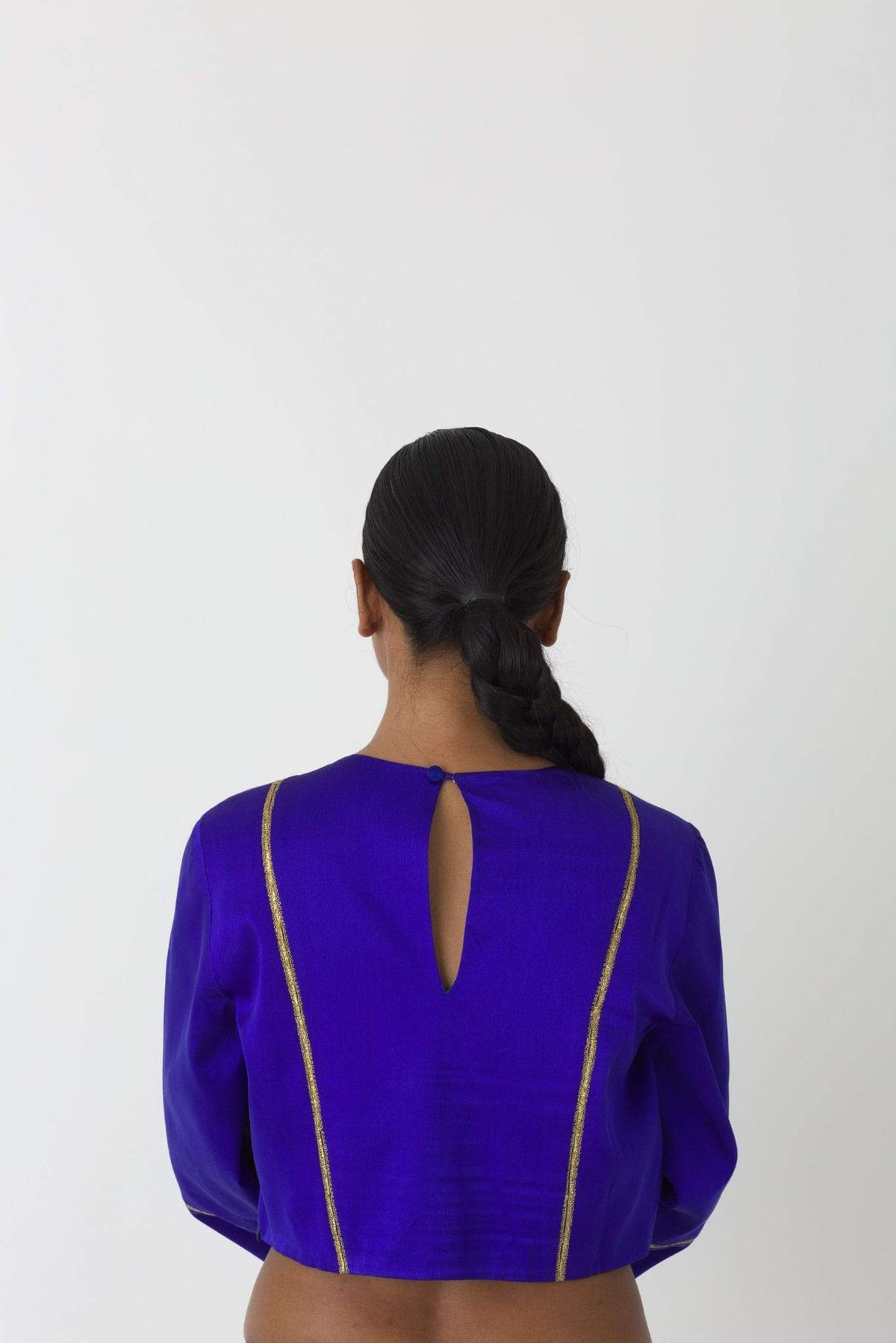 Raw Mango Shirts & Tops Mansoor blue top