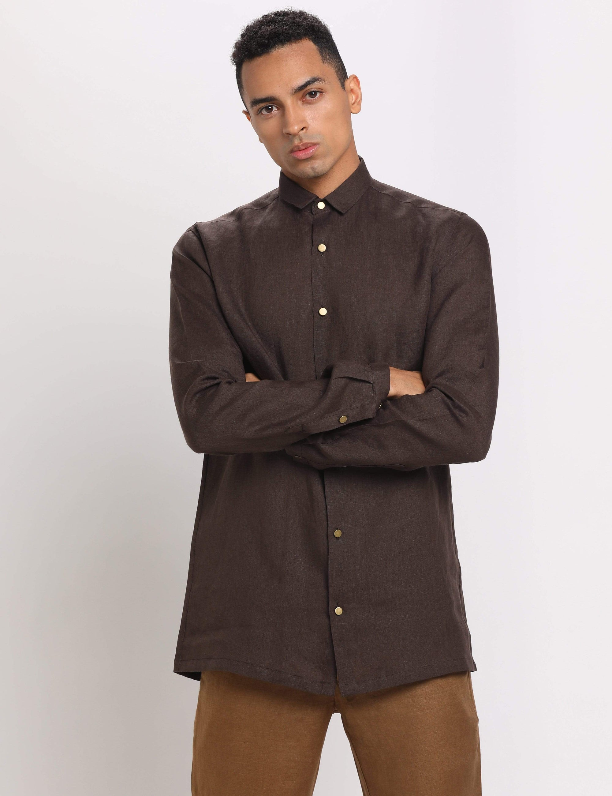 Son Of A Noble Mens Shirts Air - Brown