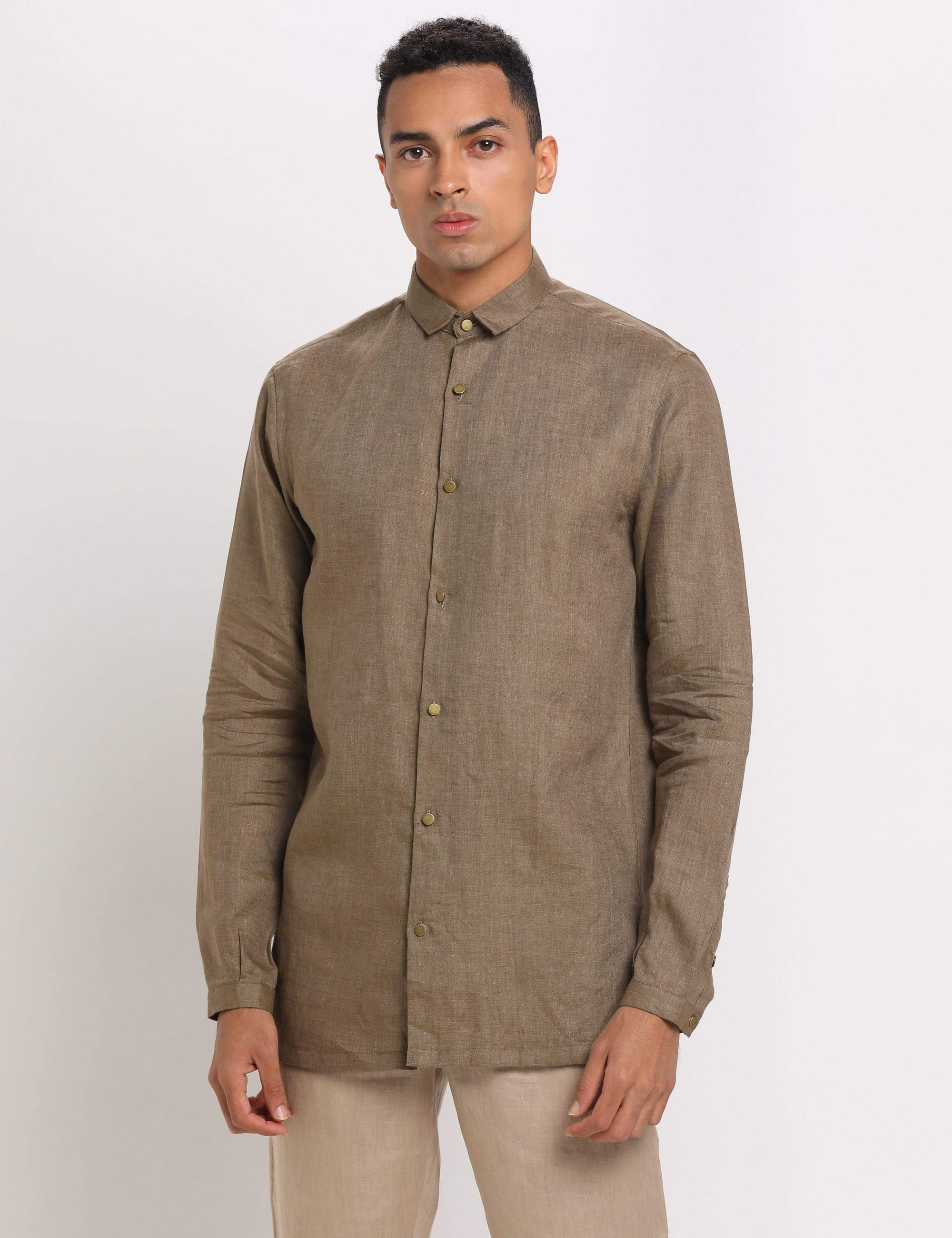 Son Of A Noble Mens Shirts Air - Khaki