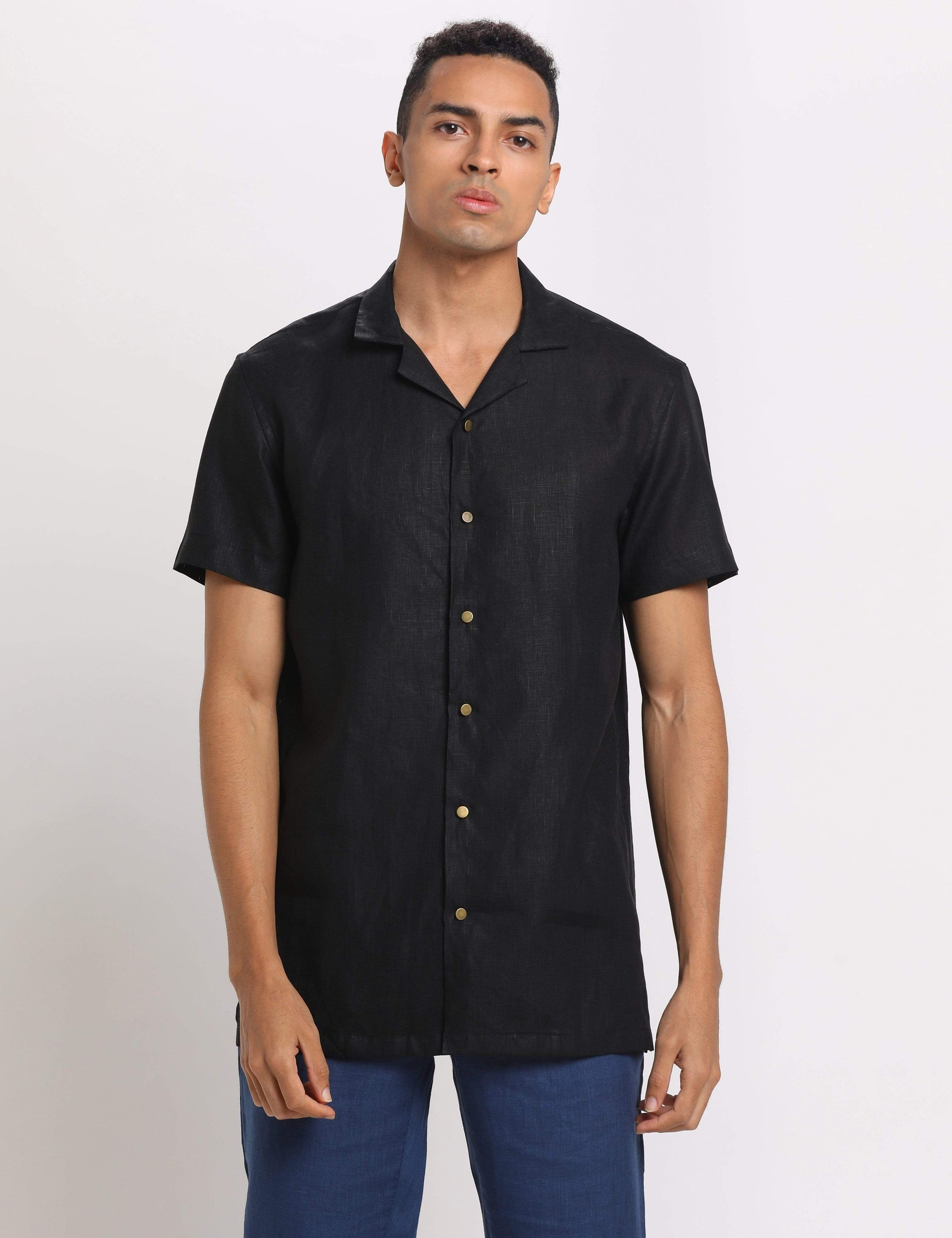 Son Of A Noble Mens Shirts Alex - Black
