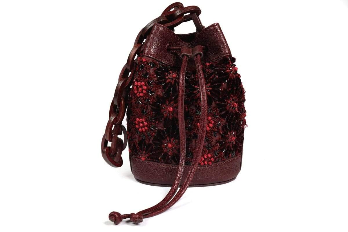 The Leather Garden Bags & Clutches FS Iris Sangaria bucket bag