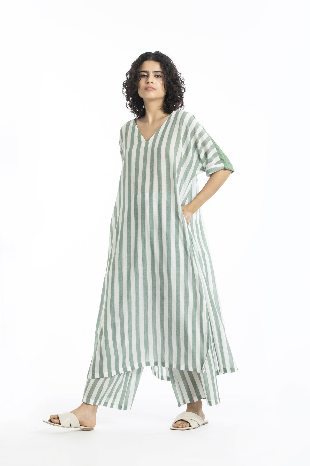 Three Shirts & Tops Pure cotton poplin striped top