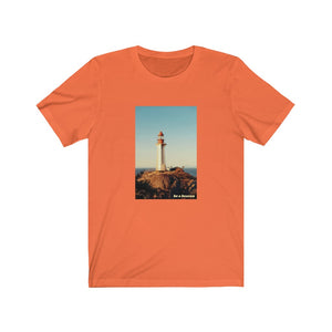 Beacon Lighthouse-Unisex Jersey Short Sleeve Tee-(More Colors)