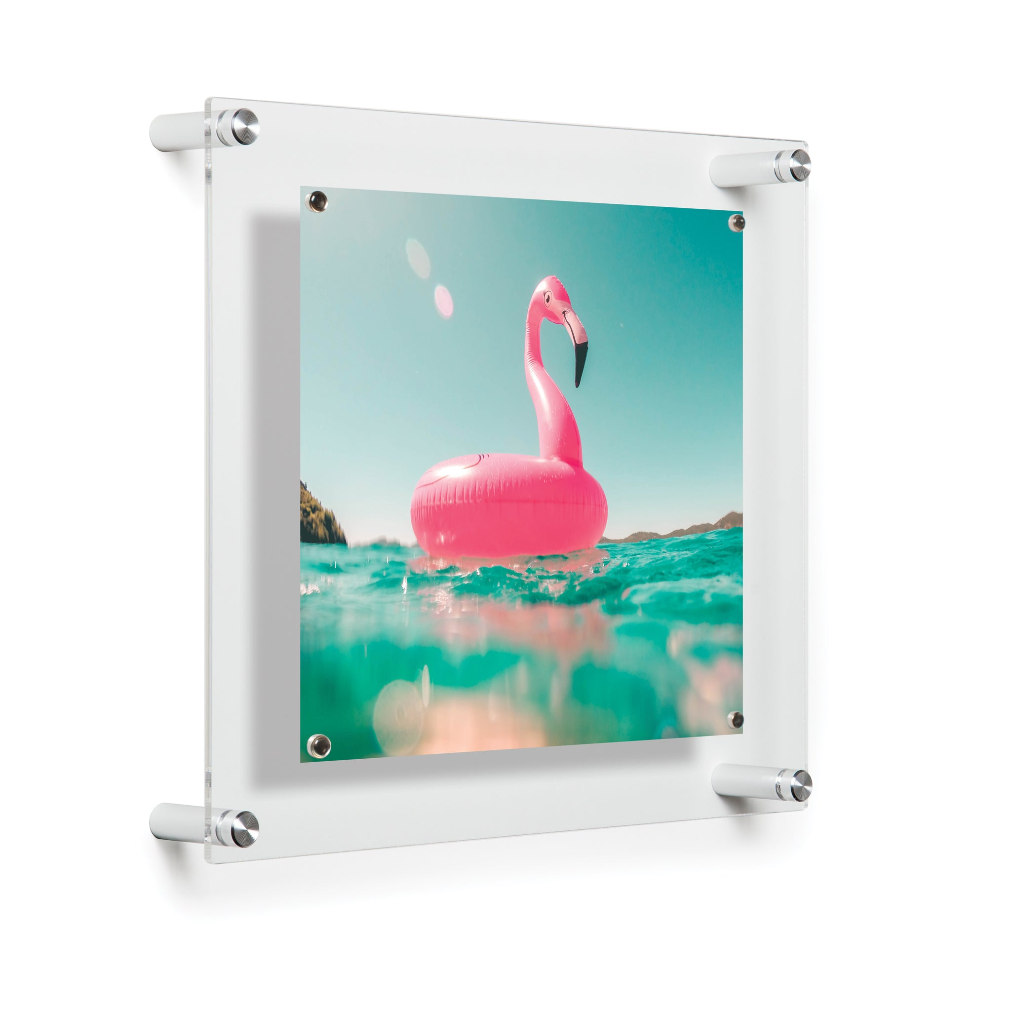 Case Of Five 12 X 14 Single Panel Floating Frames For 8x10 Photos