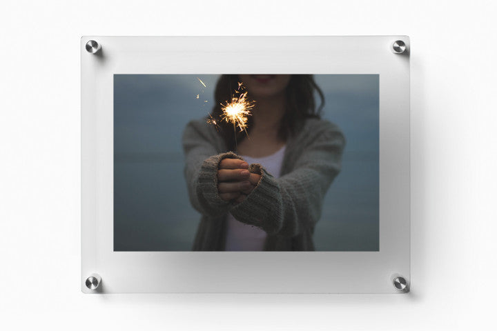 Case Of Five 12 X 15 Acrylic Double Panel Wall Frames For 8x10 Art