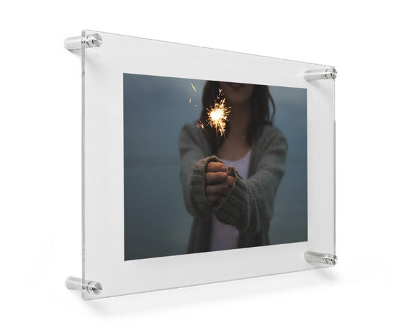 12 Quot X 15 Quot Acrylic Double Panel Floating Wall Frame Wexel Art