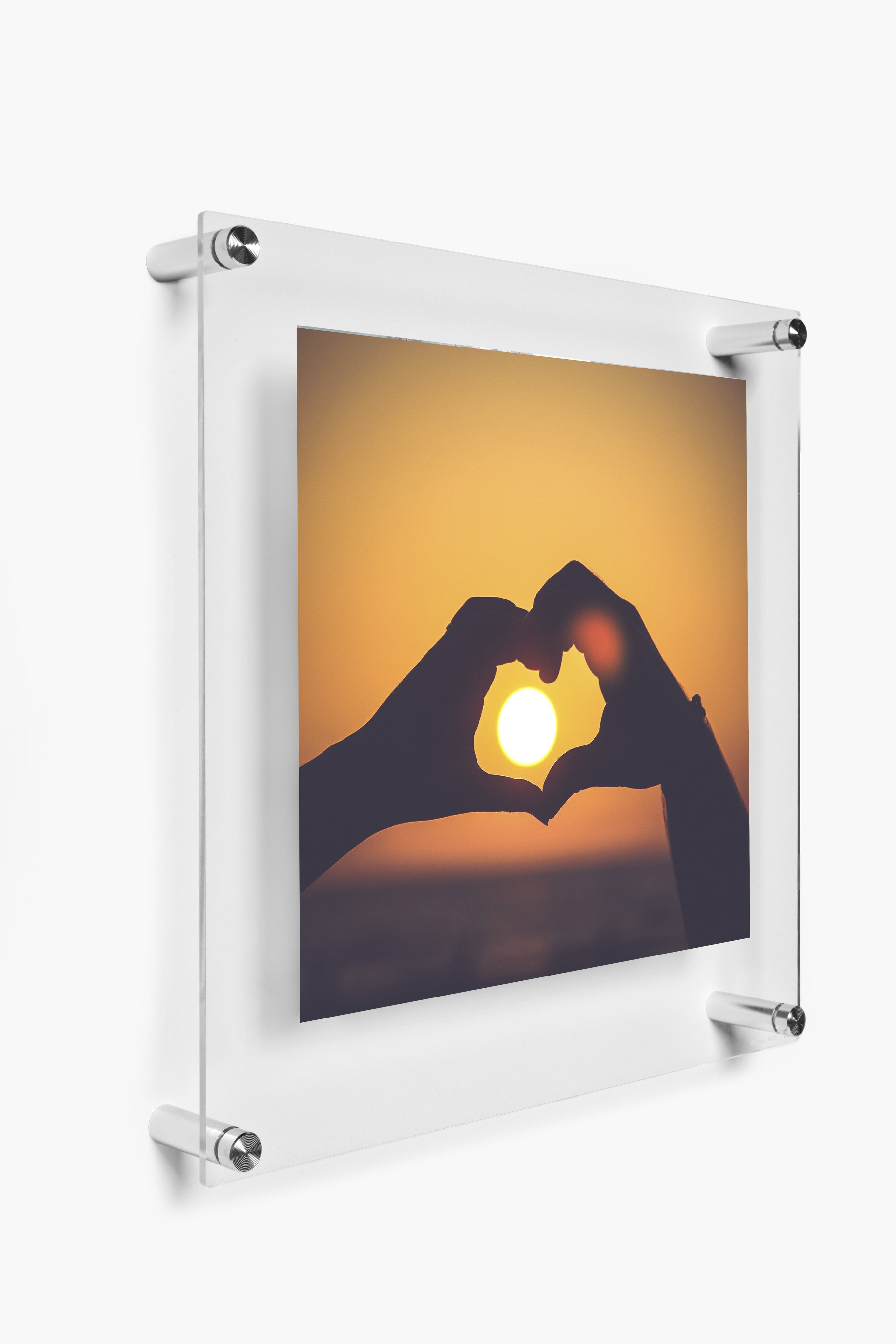 23x23 Double Panel Floating Wall Frame For 20x20 Images Wexel Art