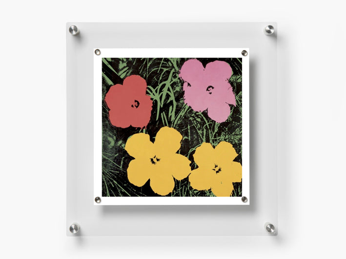 Wexel Art 14 X 14 Easy Change Acrylic Modern Floating Wall Frame