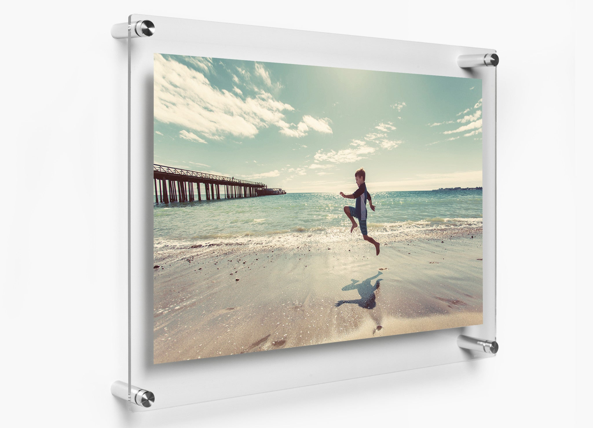 19 Quot X 23 Quot Acrylic Double Panel Floating Wall Frame Wexel Art