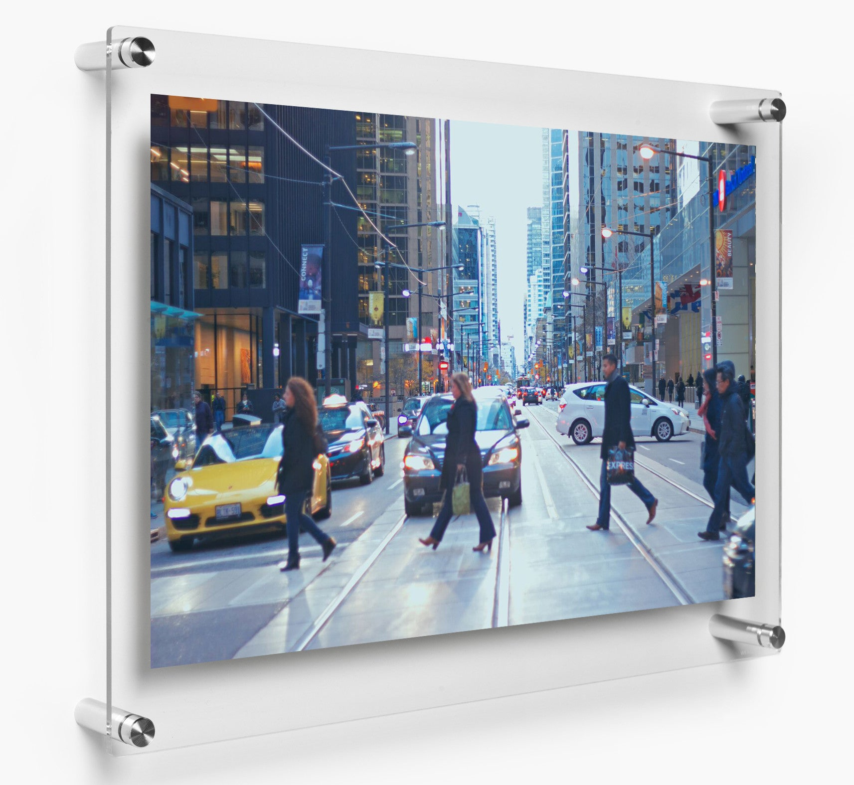 double panel 21 x 27 wall frame for 18x24 art 2127dr