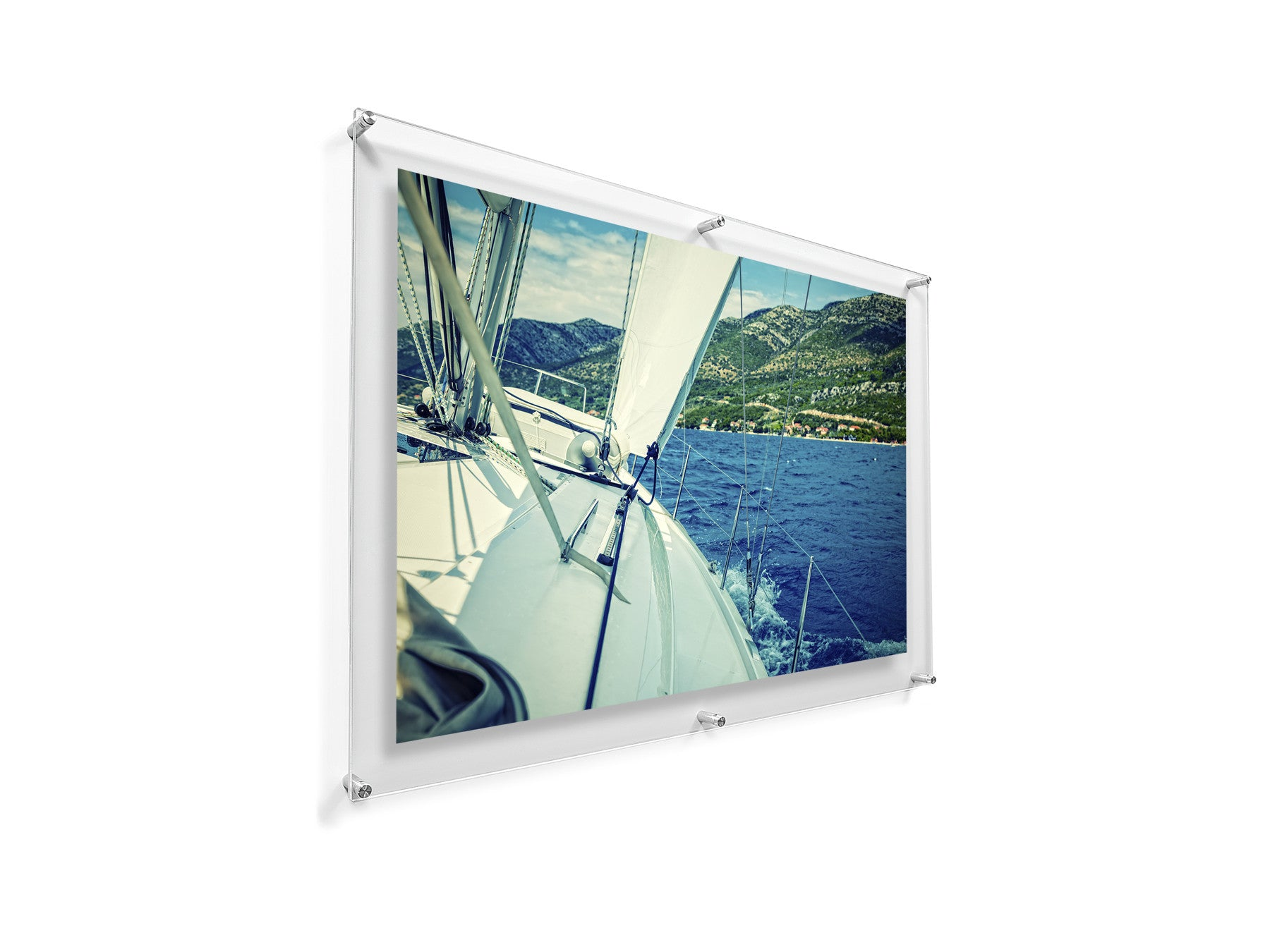 Large Double Panel Acrylic Wall Frame 28x40 - Case of 2 Frames ...