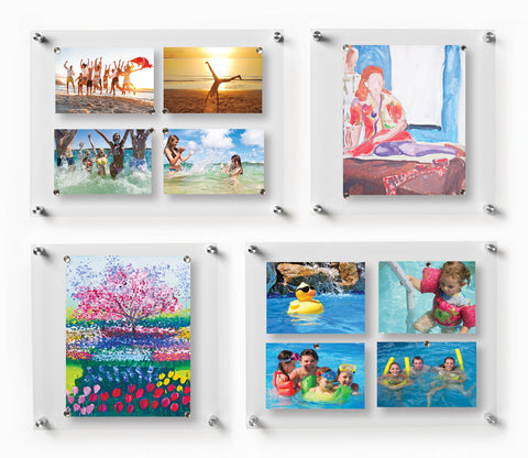 Gallery Quot Hall Wall Quot Set Of 8 Single Panel Magnet Frames 3004 Wexel Art