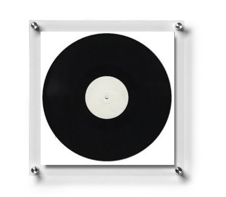 15 X 15 Double Panel Floating Frame For Record Albums Wexel Art