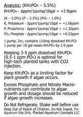 Potassium Phosphate Fertilizer KH2PO4, 16oz