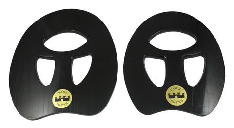 Castle Black Plastic Spider Pads