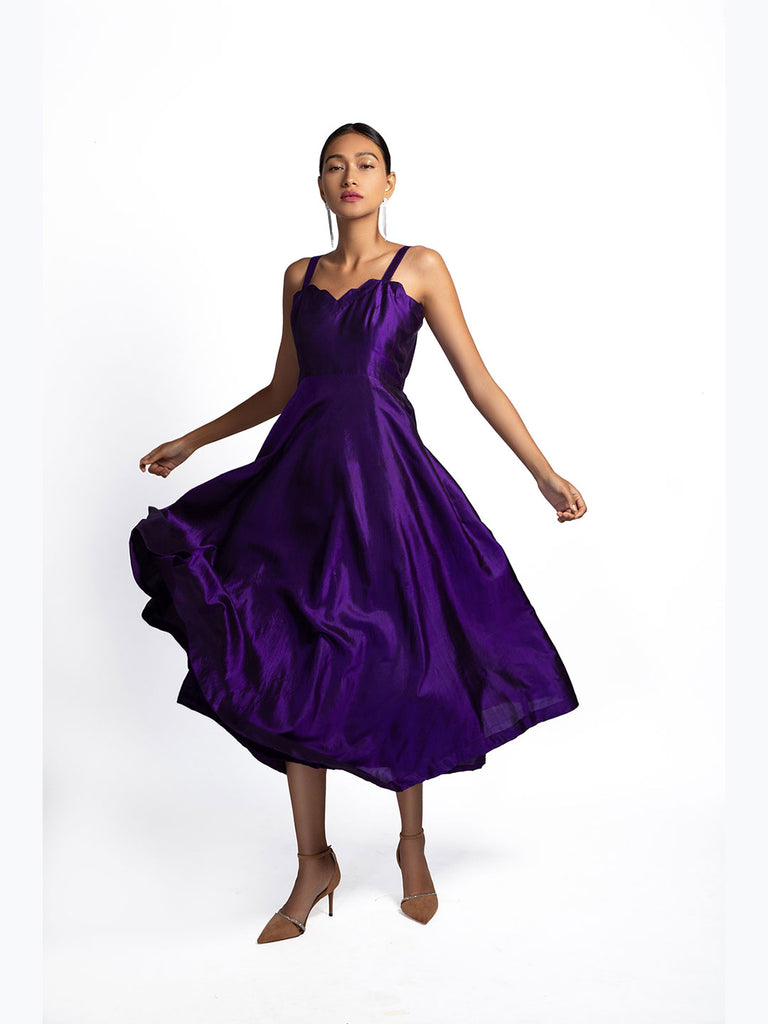 Rupohi Ultra Violet Dress