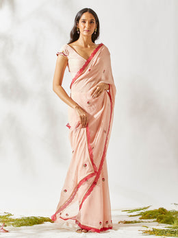 Vintage Carnation Saree