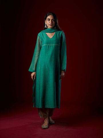 Emerald basic kurta set