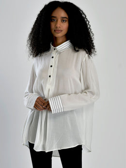 Box Pleat Shirt