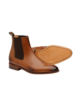 Chelsea Tan Dutch Veal Boots