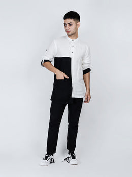 Lean Black Kurta Shirt