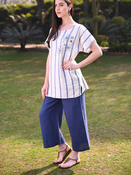 Blue Stripe Tunic
