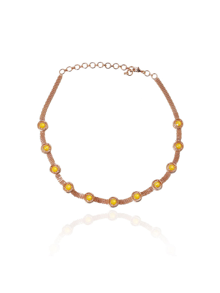 Pop Colored Chunky Chic Choker