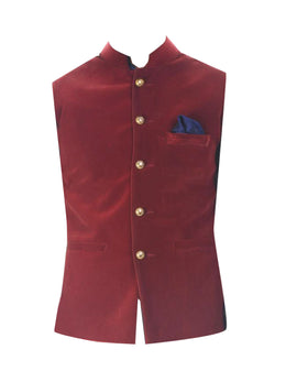 Black Solid Kurta with Jacket and Churidar Pants