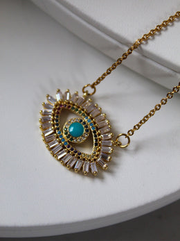 18K Gold Plated Amra Necklace
