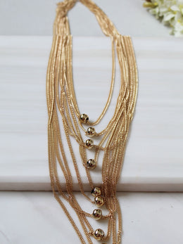 Multi Layer Gold Avah Necklace