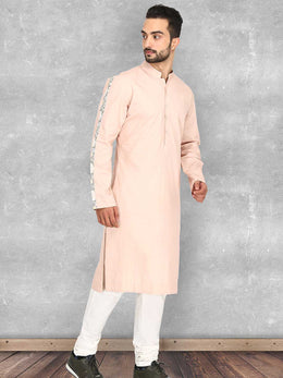 Dusty Rose Kurta with Churidaar