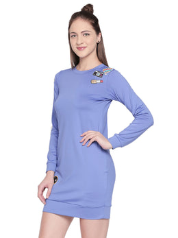 Tuna London Blue Bodycon Dress