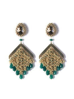 The Green Pageant Earrings