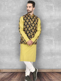 Black Mustard Tree Print Bundi