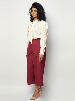 Burgundy Banana Pants