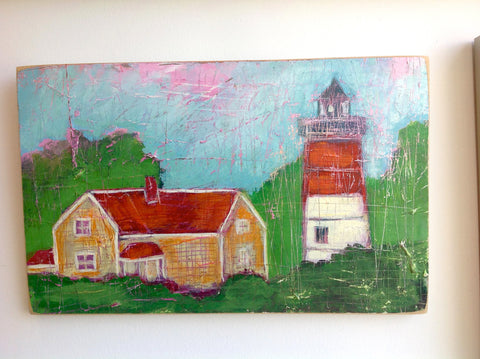 Painting {Nauset Light 5}