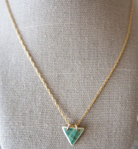 Necklace {Small Triangle}