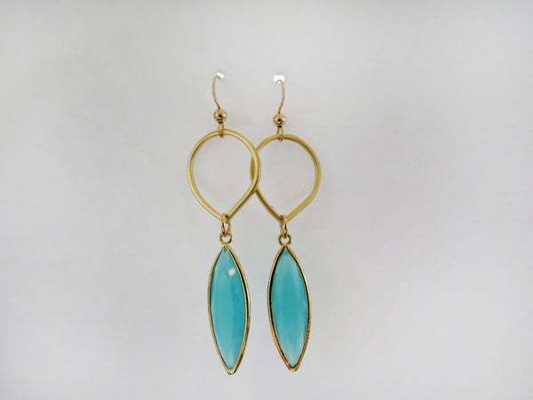 Earring {Petite Water Drop}