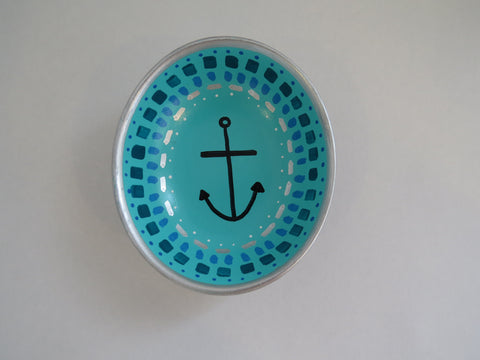 Mixed Media Anchor Bowl