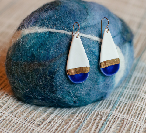 Large Teardrop Earring