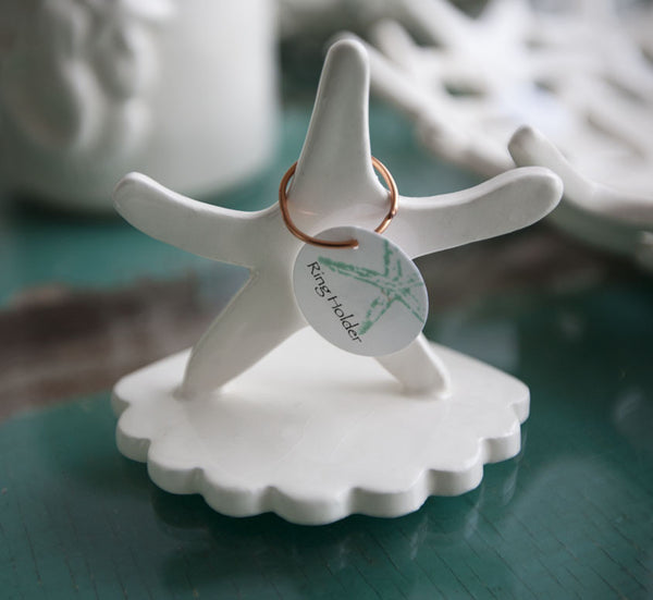 Ring holder {Starfish}
